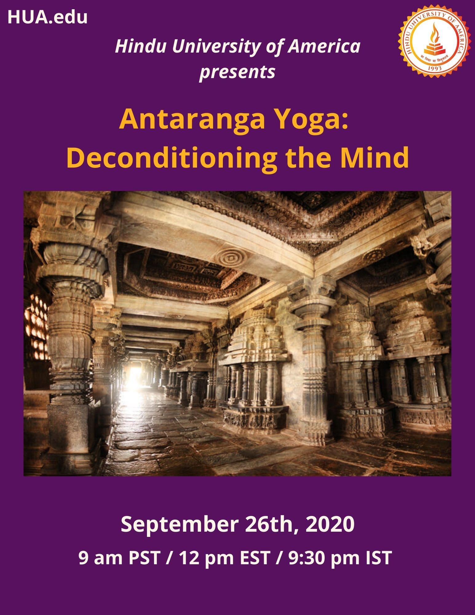 Antaranga Yoga: Deconditioning the Mind